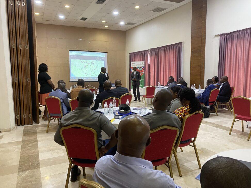 Konferenz in Abidjan